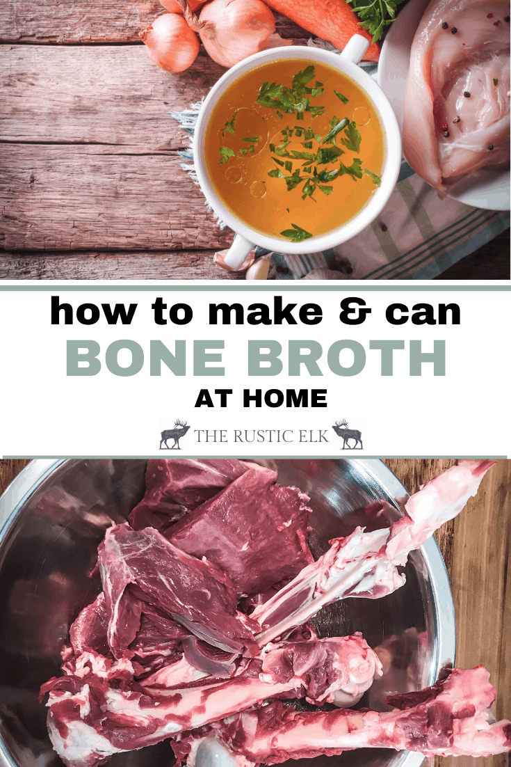 How To Can Bone Broth Recipe Bone Broth Food Recipes Quick Meals To Make