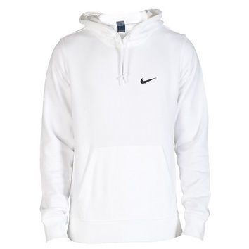 all white nike sweater