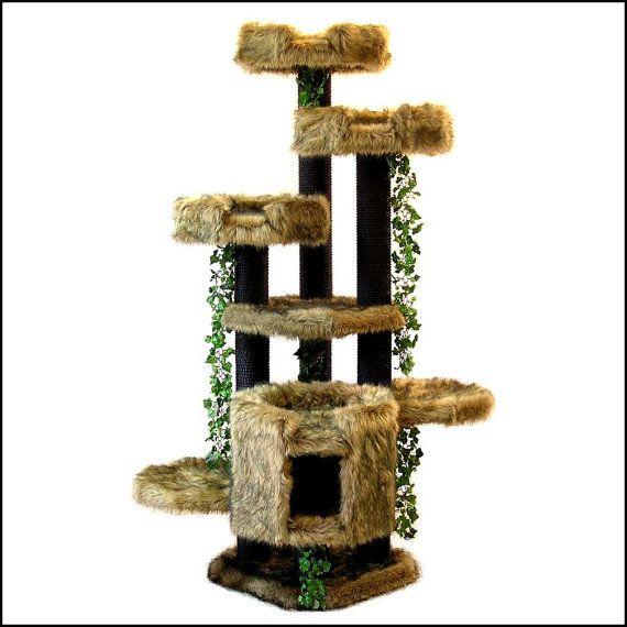 6 Luxury Cat Furniture Trees Designer Cat Beds By Incrediblecat 890 00 Luxury Cat Furniture Modern Cat Tree Tree Furniture