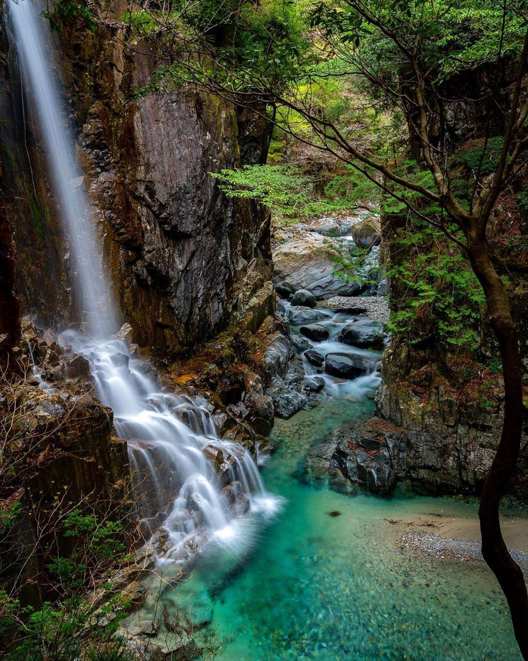 付知峡観音滝 忙しくなると写真を弄っている時間がありません Sony A7riii Lens Sel24105g 岐阜県中津川市 Date 2019 04 Sonyalpha S 付知 風景 写真
