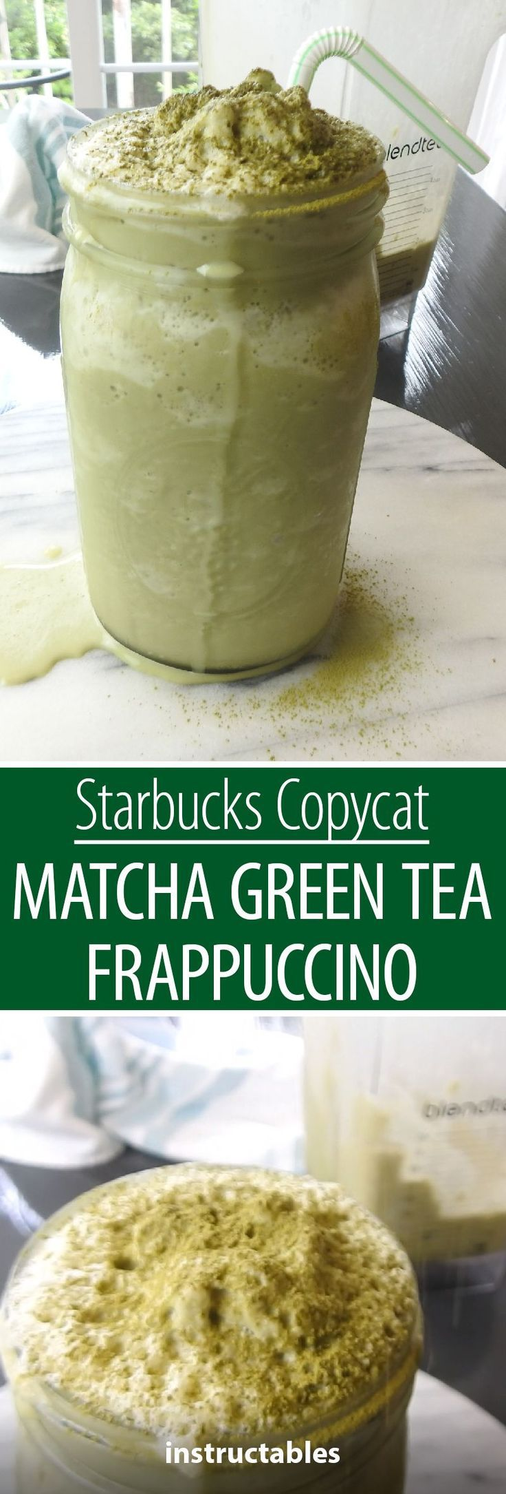 Photo of Starbucks Copycat Matcha Green Tea Frappuccino