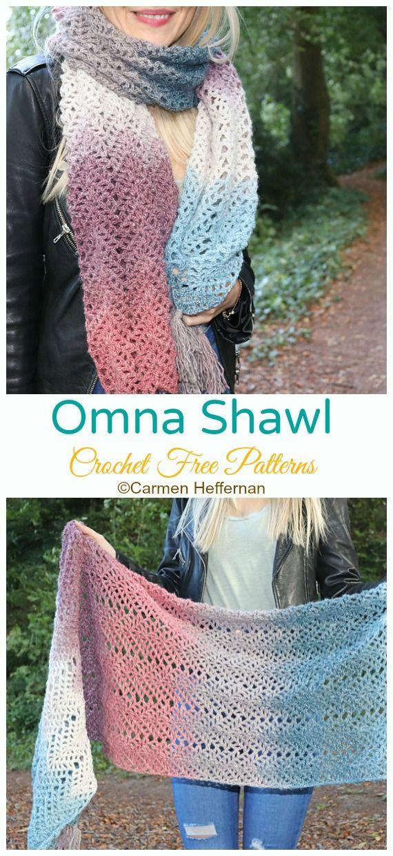 Omna Shawl Crochet Free Pattern - Crochet & Knitting