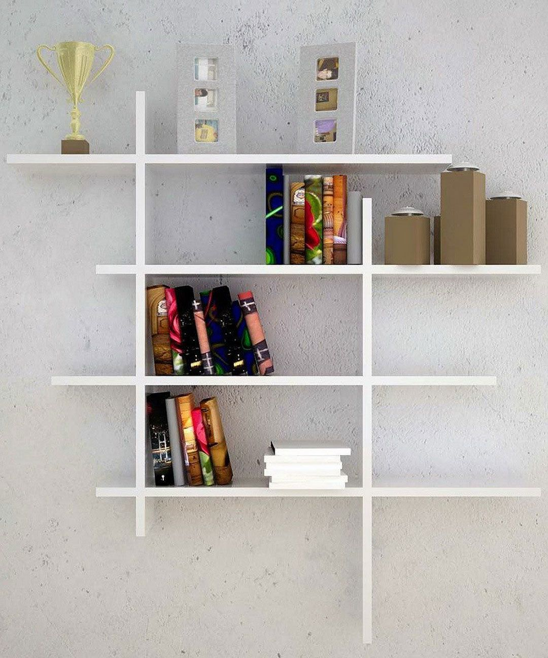 modern contemporary wall mounted bookshelves ideas  bookshelf  - modern contemporary wall mounted bookshelves ideas