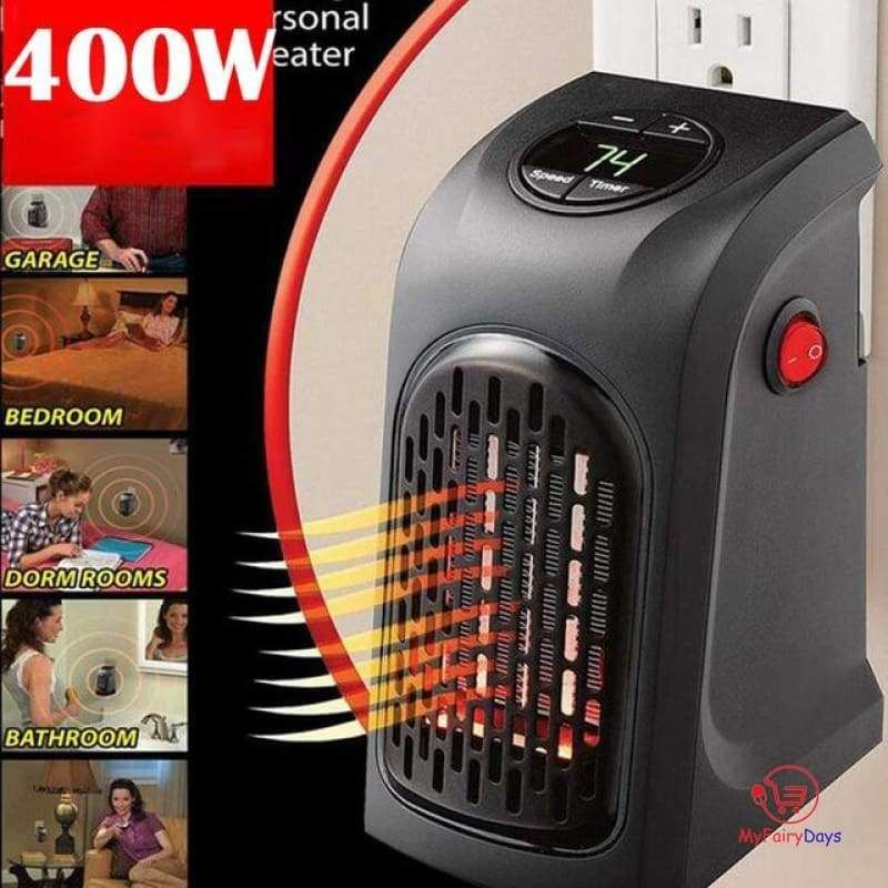 Handy Heaters Wall-Outlet Space Heater FREE  SHIPPING