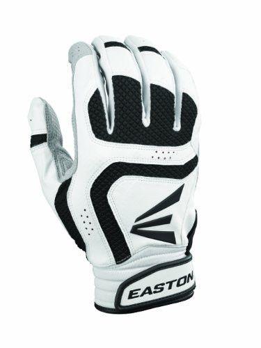 Easton Youth Vrs Icon Batting Gloves (Small, White/Black)