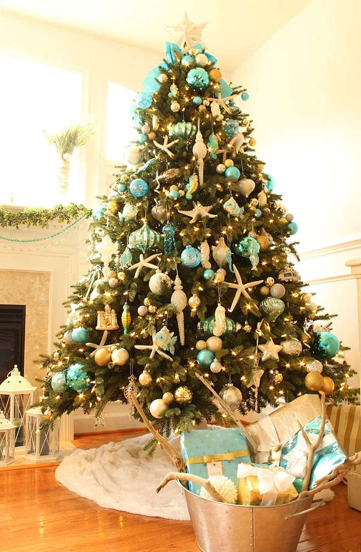 Turquoise Christmas Decor Turquoise Christmas Decor Decorating With Christmas Lights Turquoise Christmas