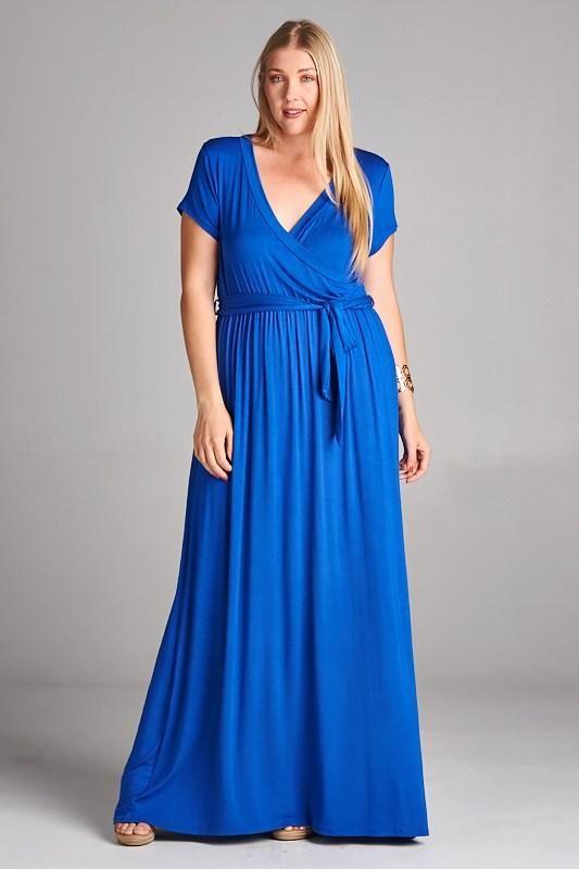 Pin by LuxbyJulia.com on Plus Size Dresses 1X 2X 3X | Plus size maxi ...
