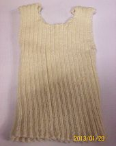 Ravelry: Singlet with optional knitted or crocheted neck