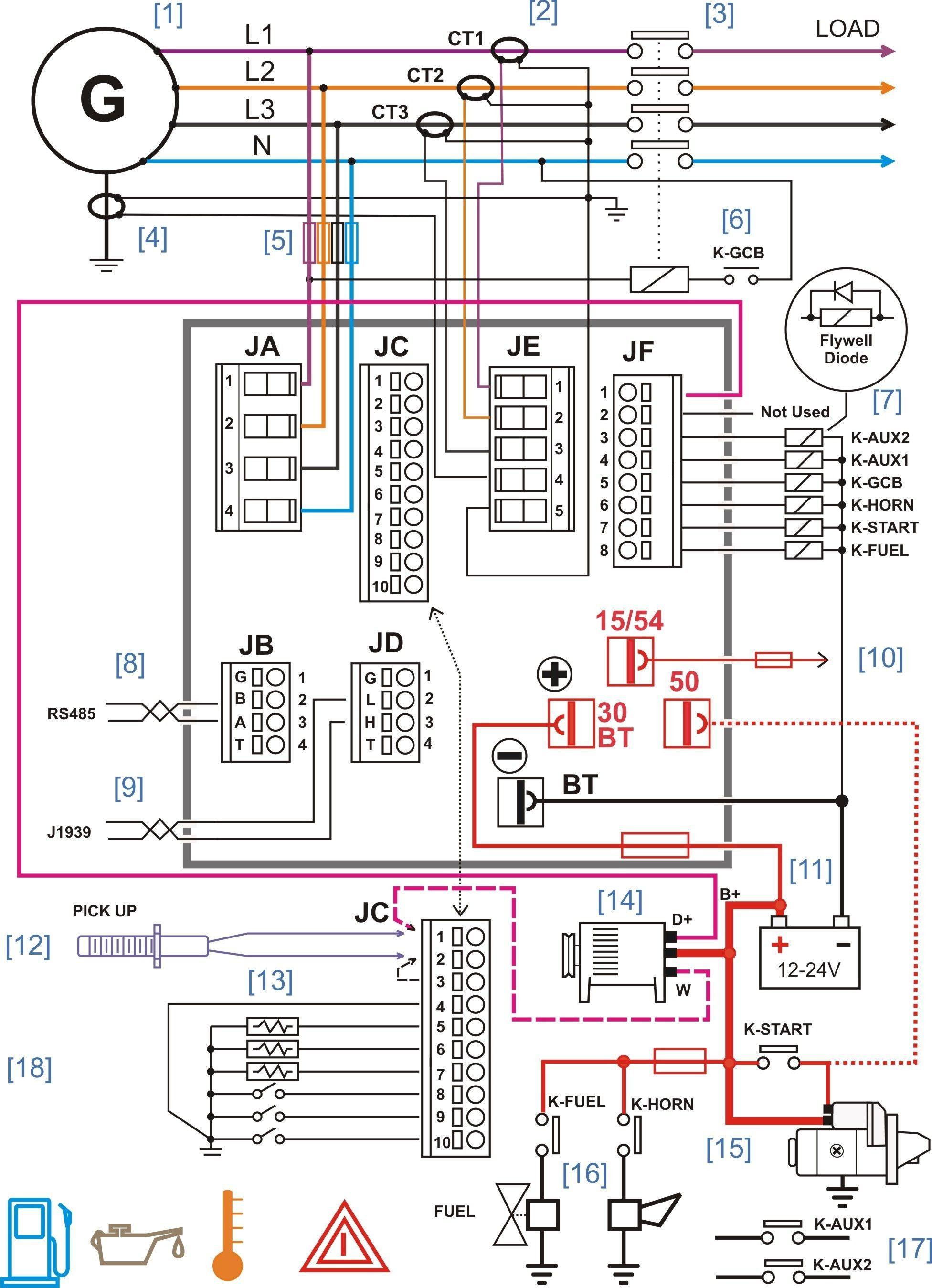 Generator Transfer Switch Wiring Diagram Electrical Circuit Diagram Electrical Diagram Electrical Wiring Diagram