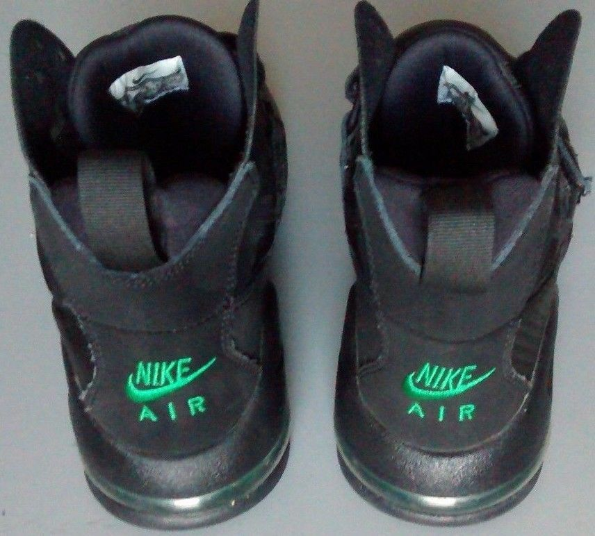new concept 47dd3 a38a5 EUC Mens Nike Air Max Express US size 8.5 black green sneakers basketball  shoes  Nike  BasketballShoes