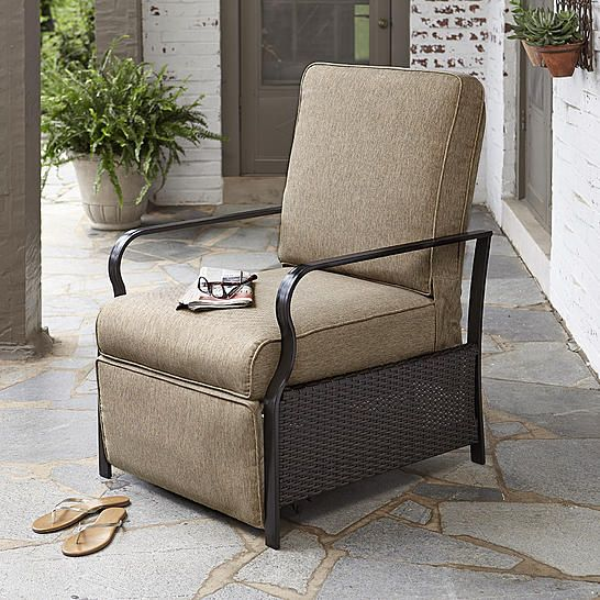 Sears Com Outdoor Recliner Outdoor Furniture Relaxing Outdoors