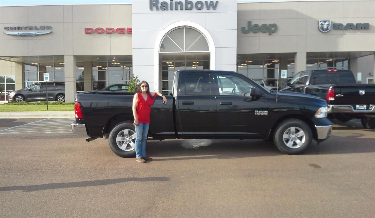 Perfect Thomasu0027s New 2018 RAM 1500! Congratulations And Best Wishes From Rainbow  Chrysler Dodge Jeep Ram