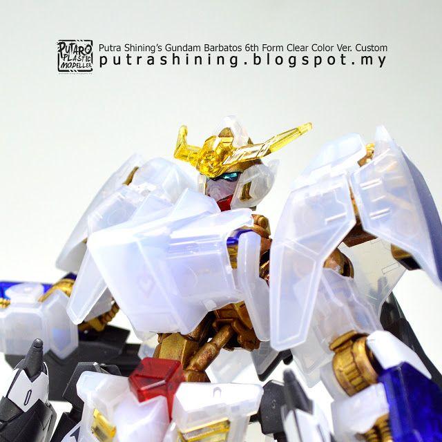 HGIBO 1/144 Gundam Barbatos 6th Form Clear Color Ver. Custom by Putra Shining