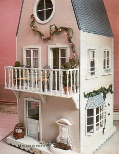 tuto de maison poup e barbie mais autre dollhouses. Black Bedroom Furniture Sets. Home Design Ideas