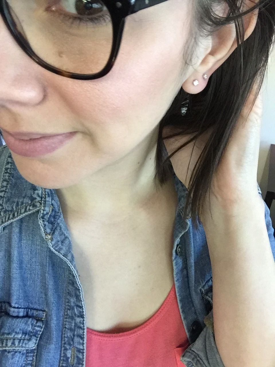 Diamond Stud Earrings Go With Literally Any Outfit Style Of Gles Ear Lobe Size Stack Them Up