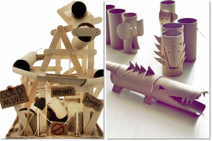 Rotoli Di Carta Igienica Riciclo : Come riciclare i rotoli di carta igienica giocattoli per bambini