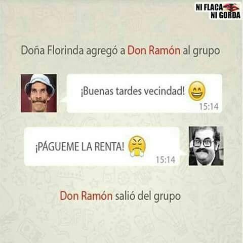 Don Ramon Abandono El Grupo Imagenes De Risa Dona Florinda Risa
