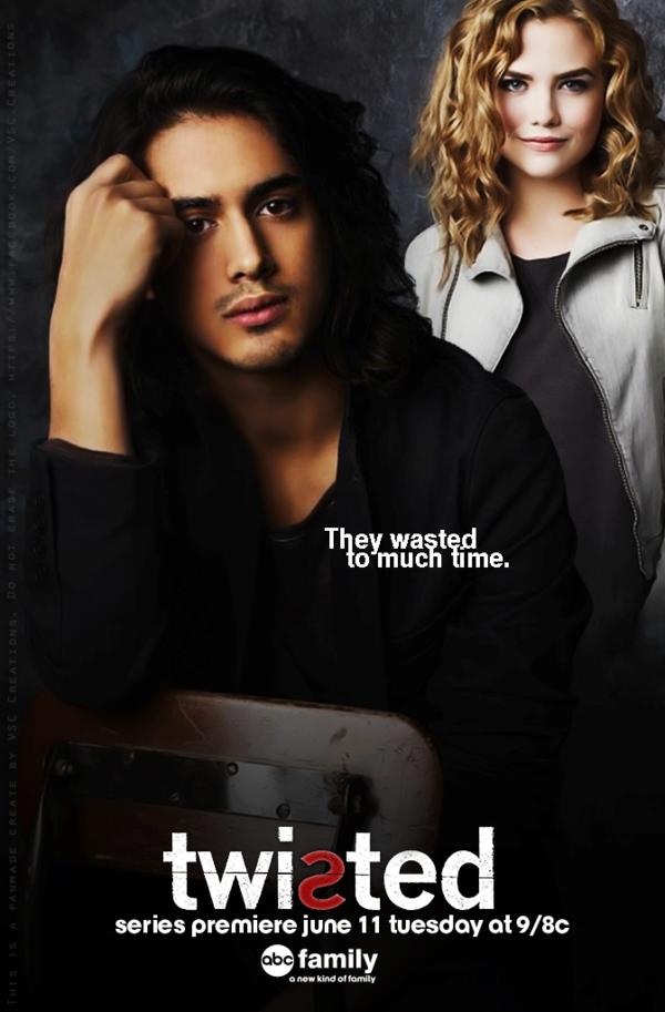 Twisted (série Télévisée) : twisted, (série, télévisée), Promo, Poster, Twisted, VSCreations, DeviantART, Twist,, Family,, Family