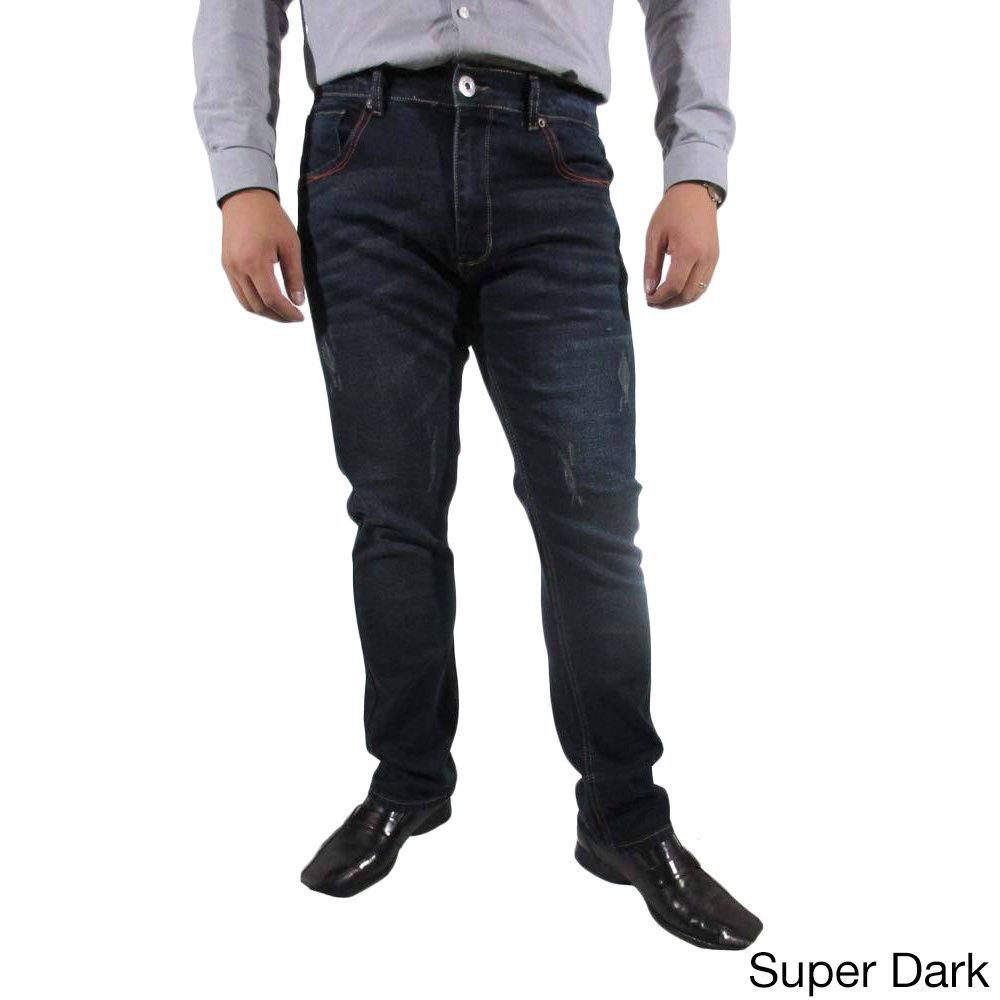 The United Freedom Men's RED Stitching Pocket Jean IN Stretch Slim FIT