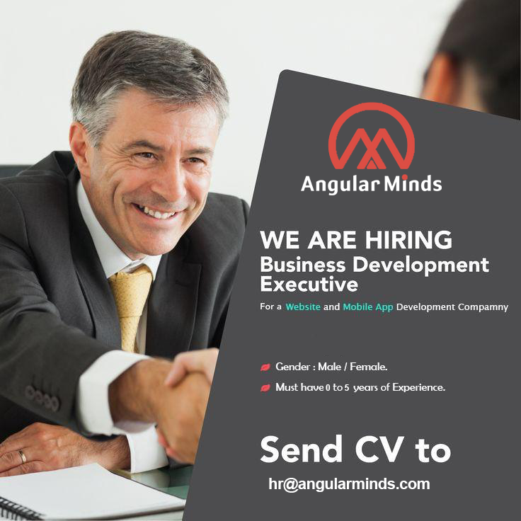 We Are Hiring Business Development Executive For Pune Location