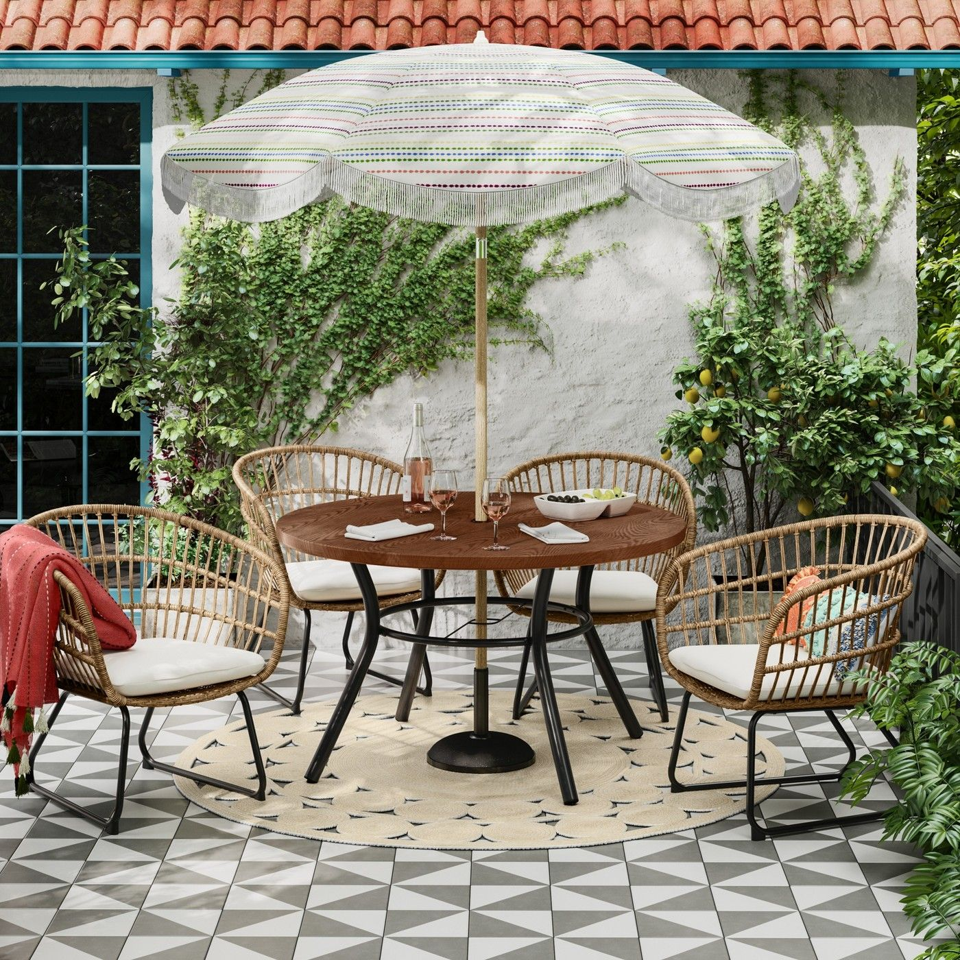 Southport Patio Dining Set Opalhouse Target Patio Dining