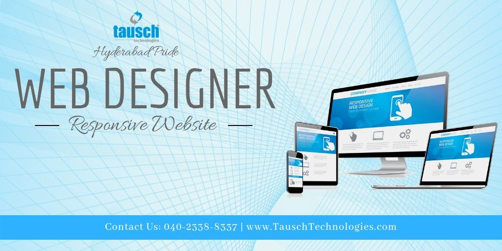 Tausch Technologies Provides All Your Web Designing Needs We Make The Fascinating Website With Reasonabl Web Design Web Development Design Web Design Services