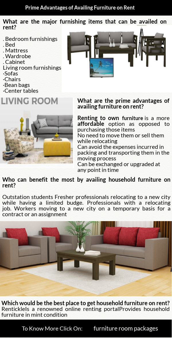Renting To Own Furniture Is A More Affordable Option As Opposed To Purchasing Those Items Living Room Furnishings Furniture Bedroom Furnishings