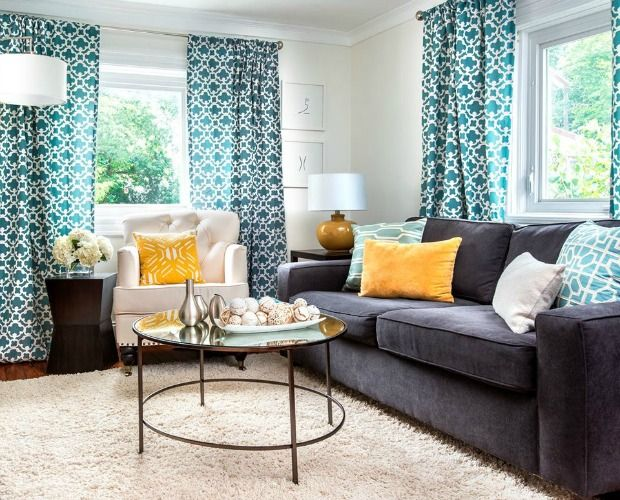 12 Interior Paint Colors Designers Absolutely Love Living Room Turquoise Living Room Paint Curtains Living Room