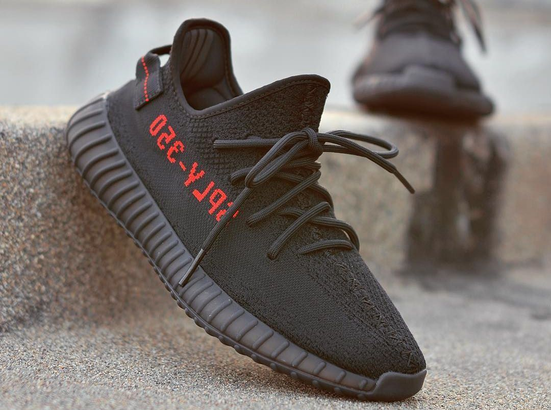 Adidas Yeezy Boost 350 v2 Pirate Bred Black Red CP 9652
