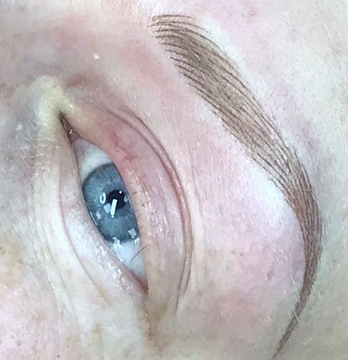Permanent Brows Created For Alopecia Sufferer. From no ...
