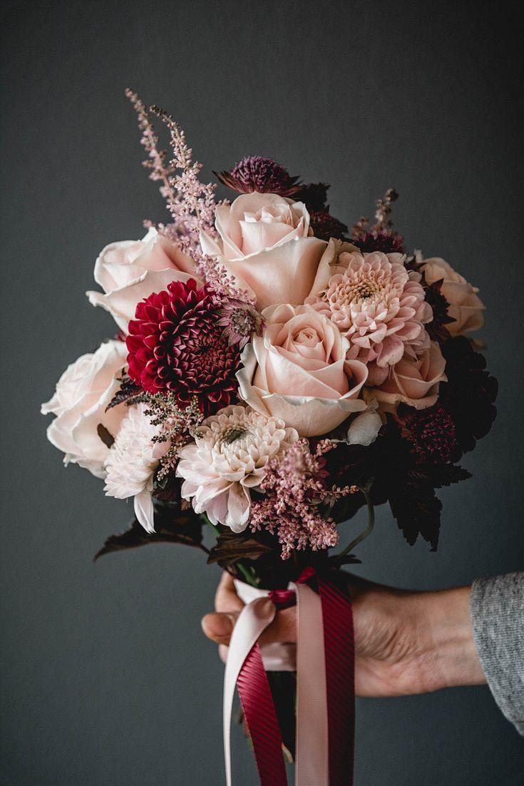 13 Ideen und Beispiele für euren Brautstrauß 2019 #pinkbridalbouquets