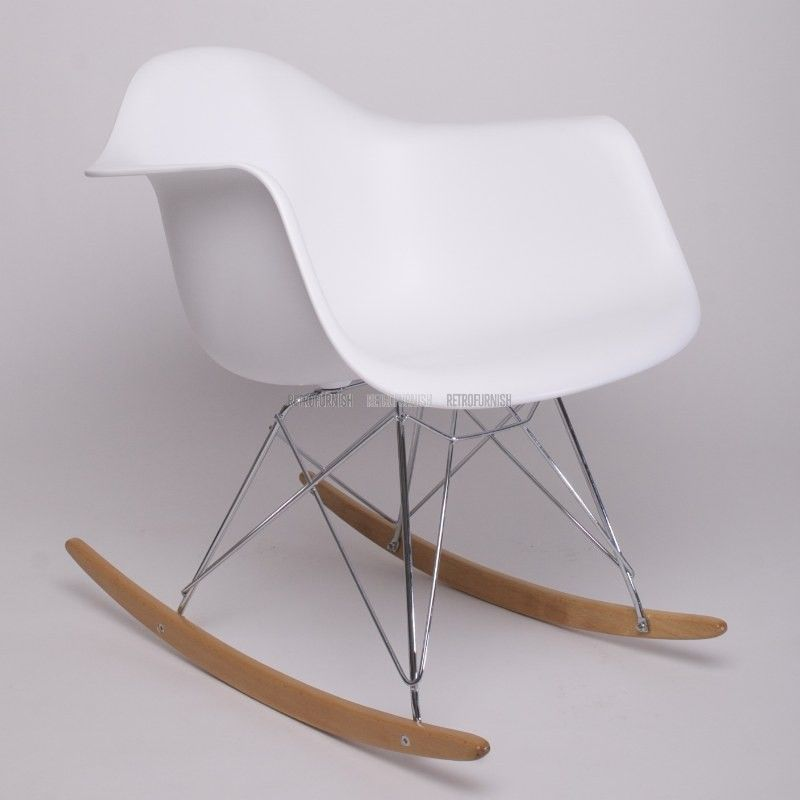 chaise bascule rar abs - Chaise Scandinave Bascule