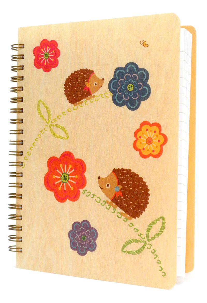 hazel hedgehog * journal by Night Owl Paper Goods - $18.50