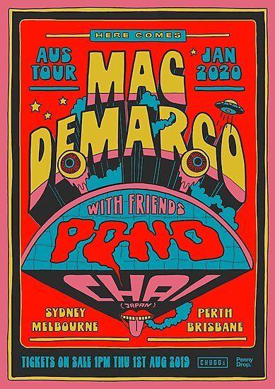 'Mac DeMarco x Pond Chai Tour' Photographic Print by fayelashell