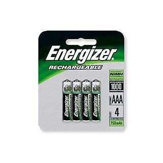 Energizer Aaa Nimh Rechargeable Batteries 4 Pack Nh12bp4 Nimh Energizer Recharge
