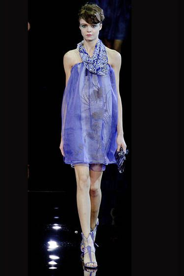 Milan Fashion Week Spring 2014 - Giorgio Armani