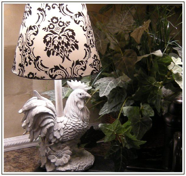 Little Rooster Lamp Decor Lighting Rooster Decor Farmhouse