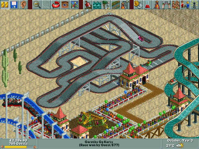 Rollercoaster Tycoon | Oh the memories  | Kids rugs, Roller coaster