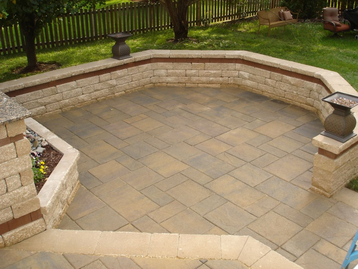 Lafitt Rustic Pavers In The Montecito Color From Belgard