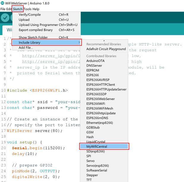 Build a Custom ESP8266 Arduino WiFi Library | mazen