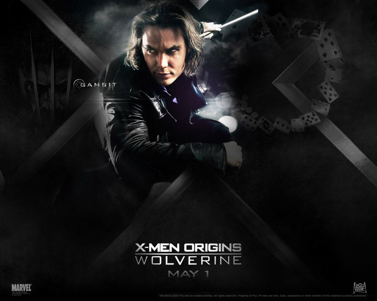 X Men Wallpaper Gambit Taylor Kitsch X Men Wolverine Movie