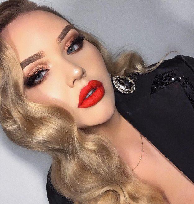 Red Lip Makeup