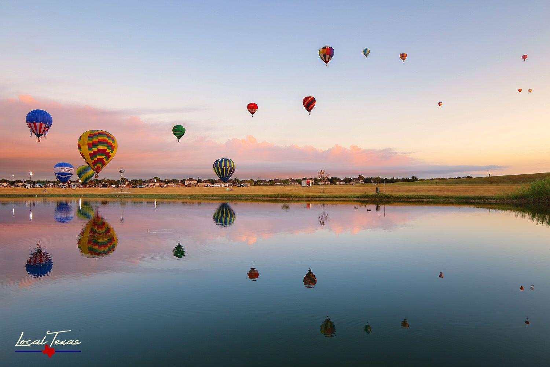 Ascension Hot air balloon festival, Balloon festivals