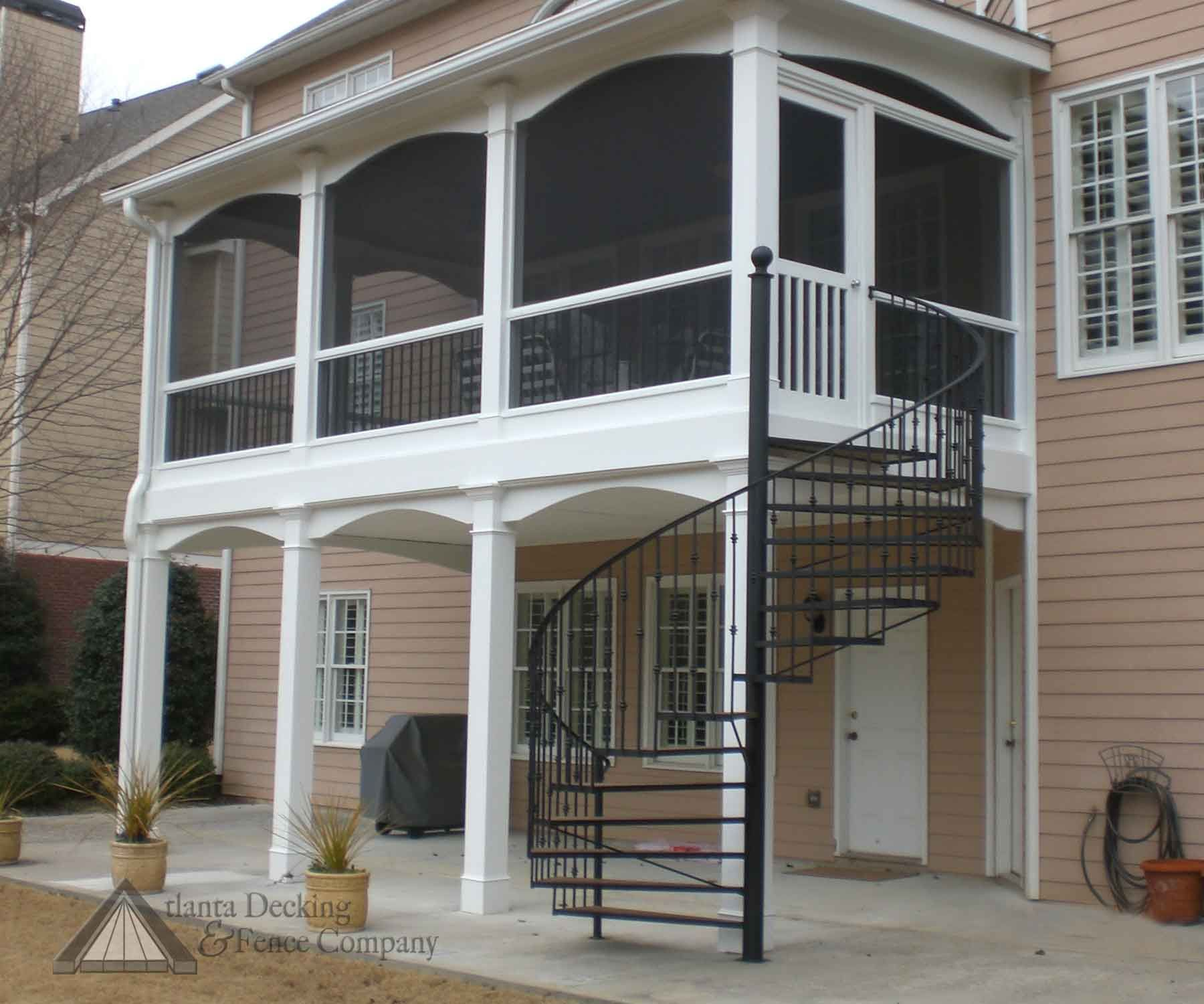 Outdoor Spiral Deck Stairs   Pictures of deck spiral stairs from Atlanta  Decking and Fence Company    Stairs   Pinterest   Spirals  Pictures of and  StairsOutdoor Spiral Deck Stairs   Pictures of deck spiral stairs from  . Outdoor Spiral Stairs Canada. Home Design Ideas