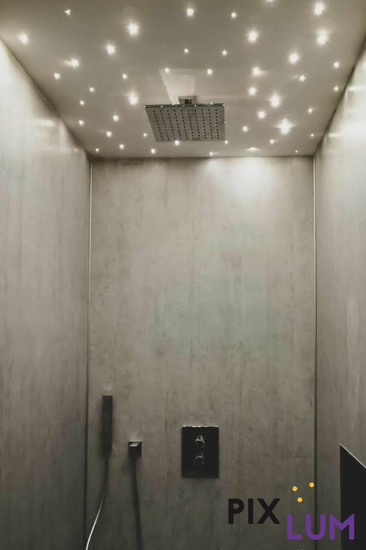 LED Sternenhimmel lassen das Badezimmer erstrahlen in 2020   Sternenhimmel, Sternen himmel, Led