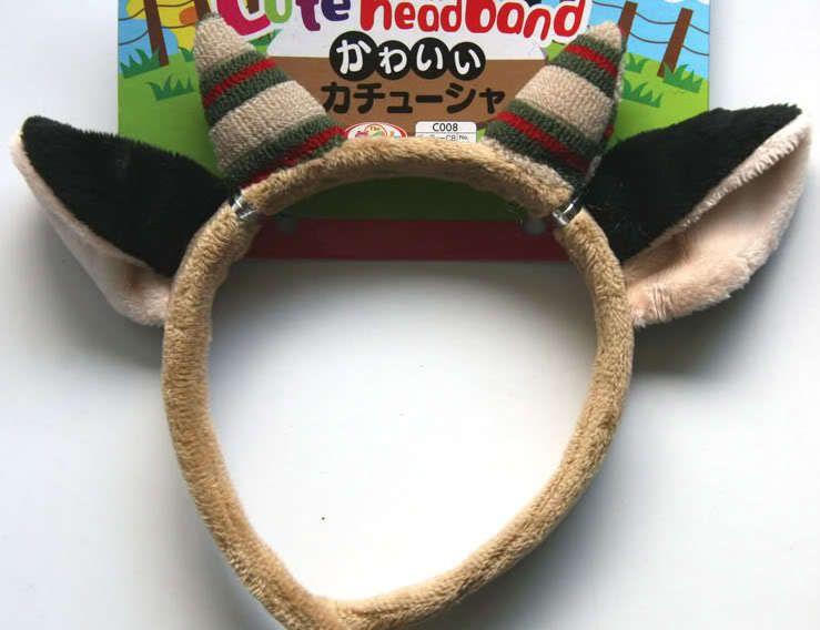 For Parties New Cute Goat Ears Kids Headband Girls Boys Children Fancy Dress   eBay