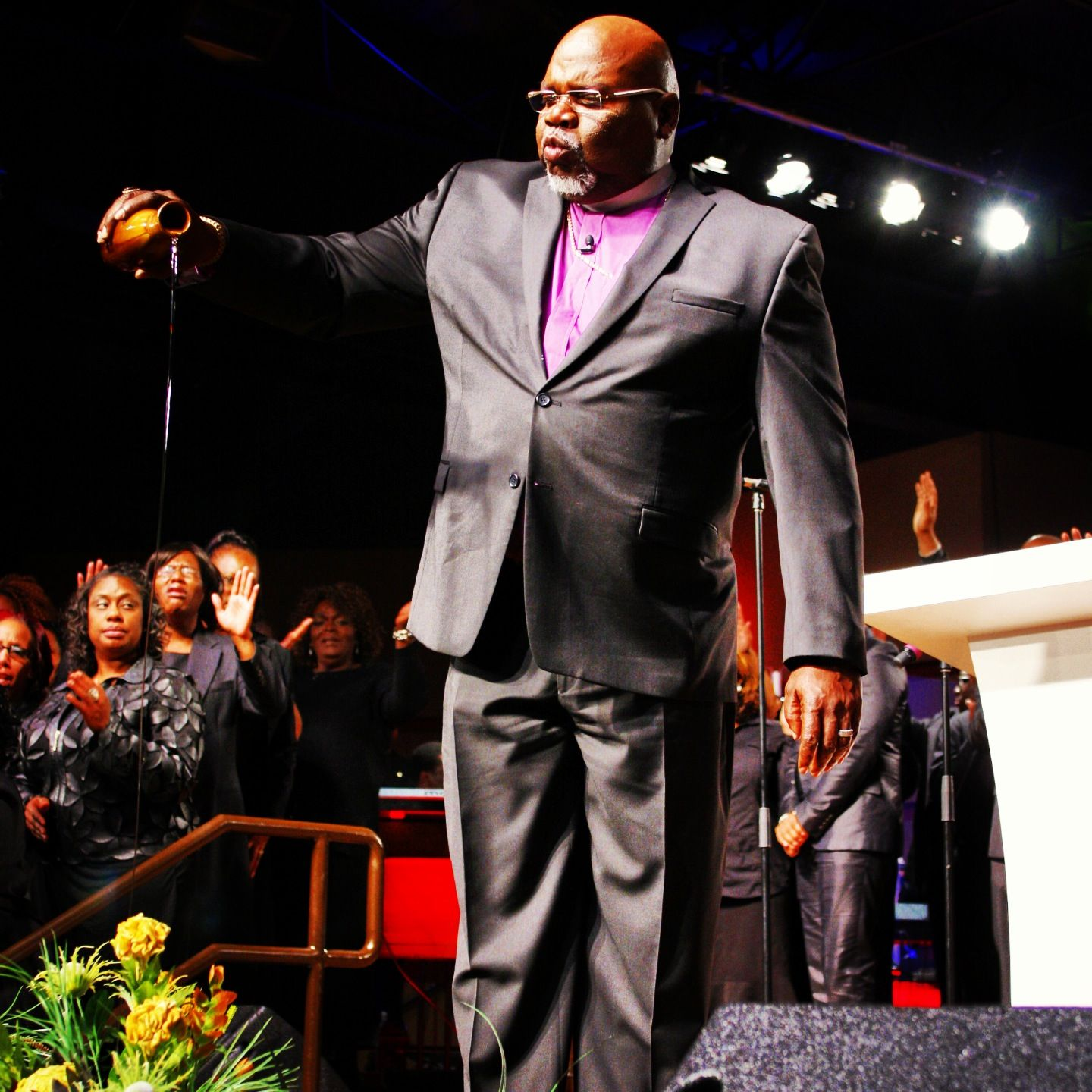 Dedication service at The Potter's House of Ft  Worth | TD Jakes
