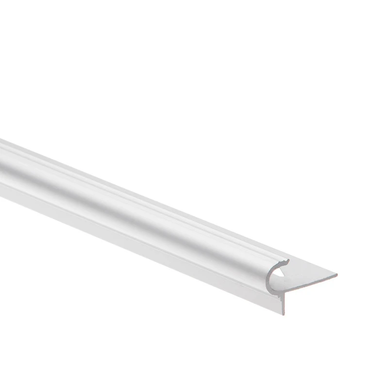 Nez De Marche Arrondi Aluminium 10mm Mat 2 5m Leroy Merlin En 2020 Nez De Marche Nez Arrondi