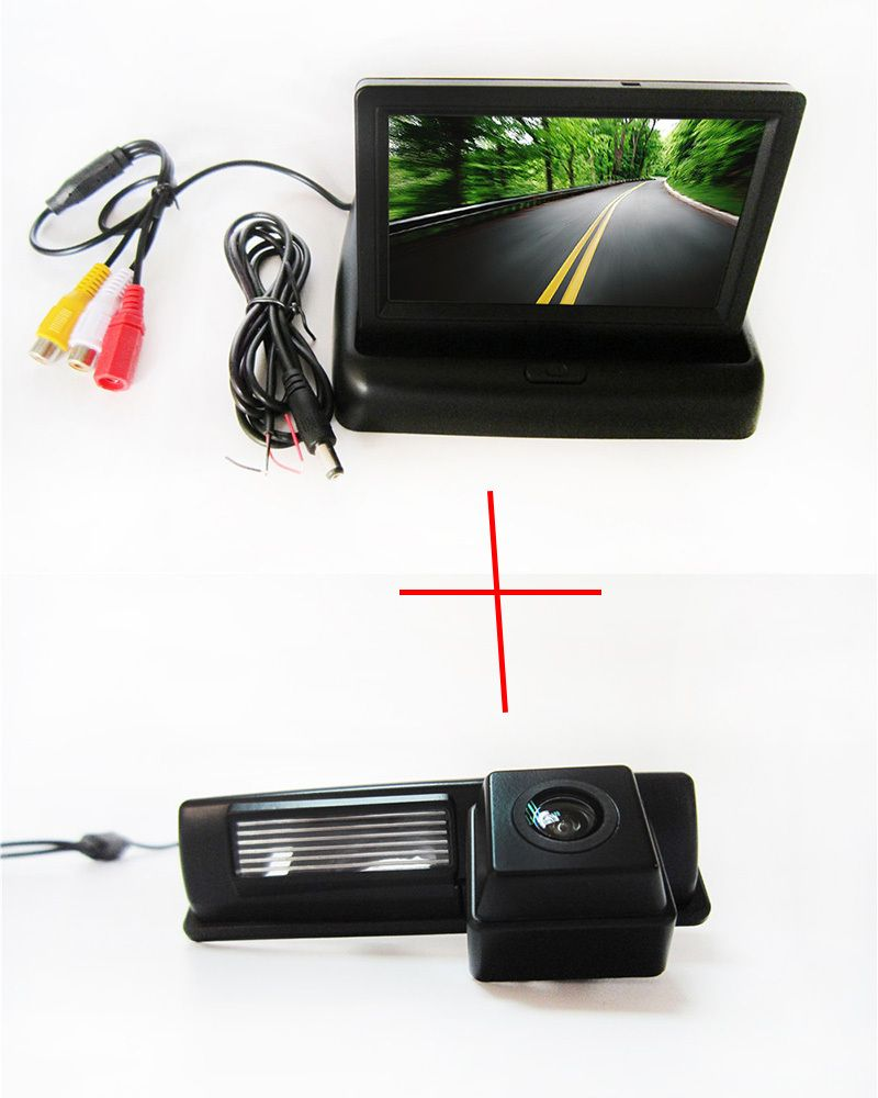 20FT RCA Video Extension Cable Automatic IR//LED Night Vision Car Auto Automotive Rear View Backup Camera Free 6M