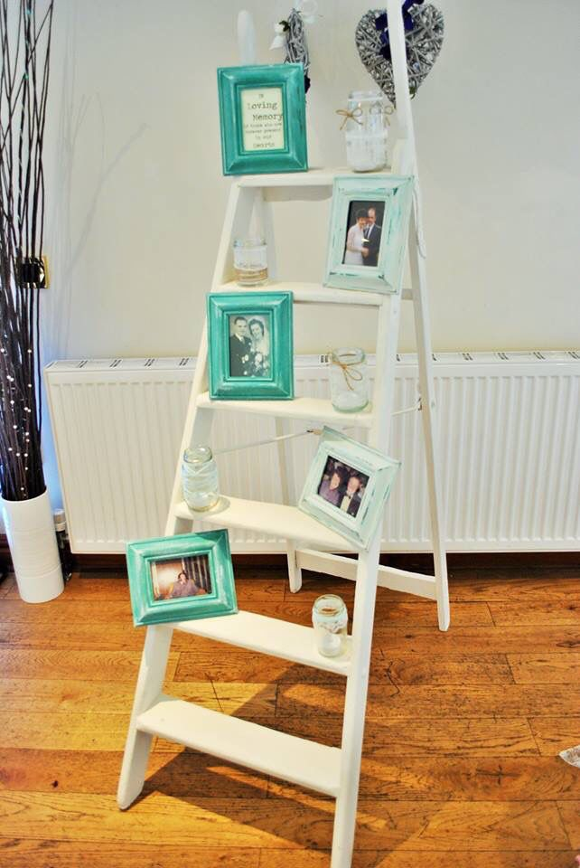 How Touching Is This Idea A Memory Ladder Of Loved Ones That